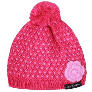 Snow Dragons Blossom Beanie (Little Girls')