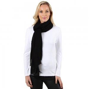 Elan Blanc Cashmere Large Woven Scarf (Women's)