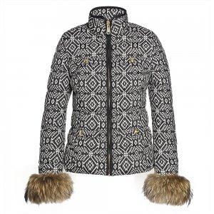 Goldbergh Jane Down Ski Jacket with Real Fur (Women's)