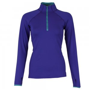 Snow Angel Color Splash Half Zip Shirt (Women's)