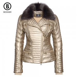 Bogner Avea-D Down Leather Ski Jacket (Women's)