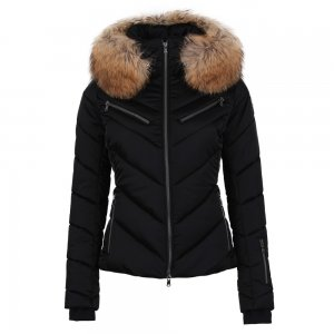MDC Chevron Insulated Ski Jacket with Real Fur (Women's)