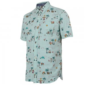 Vans Canals Short Sleeve Button Up Shirt (Men's)