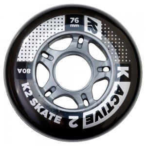 K2 Active 76mm Wheel 4-Pack