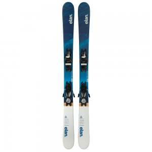 Elan Pinball Pro Junior Ski System with Elan EL 7.5 Shift Bindings (Girls')