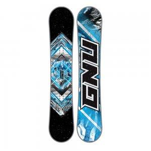 GNU Asym Gnuru Mid-Wide Snowboard (Men's)