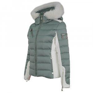 Nils Ula Down Ski Jacket with Real Fur (Women's)