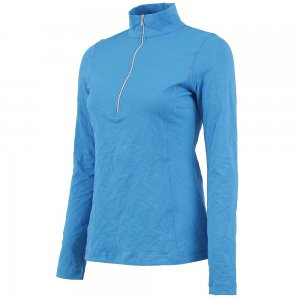 Sno Skins Braided Sport Jacquard 1/4-Zip Turtleneck (Women's)