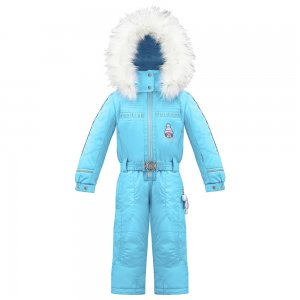 Poivre Blanc Ski Overall with Faux Fur (Little Girls')