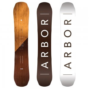 Arbor Coda Rocker Mid Wide Snowboard (Men's)