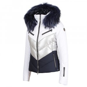 MDC Chevron Ski Jacket with Fur (Women's)