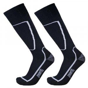 POINT 6 U SKI MEDIUM 2 PACK SOCKS