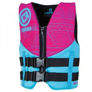 O BRIEN YOUTH NEO PINK/AQUA