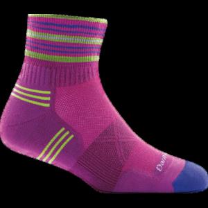 Darn Tough Vertex 1/4 Ultra-Light Sock - Women's, Clover, Large