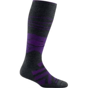 Darn Tough Sea to Sky OTC Lightweight Sock w/ Cushion, Female, Charcoal, Large