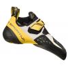 La Sportiva Solution Men's Climbing Shoe, White/Yellow, 38