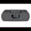 Sangean Fm Rds/Am/Bluetooth/Aux In/Usb Charging Digital Tuning Clock Radio, Black, Small