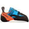 Evolv Shaman Climbing Shoe - Men's-Blue/Orange-7