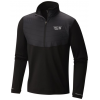 Mountain Hardwear 32 Degree Insulated 1/2 Zip Midlayer   Men's, Black, Small