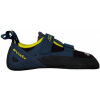 Evolv Defy Climbing Shoe - Men's-Black/Sulphur-9