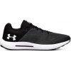 Under Armour Micro G Pursuit Road Running Shoe, Anthracite/Black/White, 9.5 Us