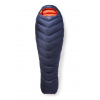 Rab Neutrino Pro 600 Sleeping Bag, Ebony, Regular, Left Zip