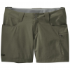 Outdoor Research Ferrosi Summit Short 5 in- Women's-Pewter-10