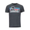 Marmot Coastal Tee Short Sleeve   Men's, Charcoal Heather, Large