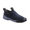 Arc'teryx Acrux Sl Leather Approach Shoe   Women's, Black Sapphire/Ion, 10,  Sapphire/Ion 10