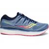 Saucony Triumph Iso 5 Road Running Shoe   Womens, Blue/Navy, Medium, 10, Ium 10