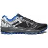 Saucony Peregrine 8 Ice Plus Trailrunning Shoe   Mens, Black/White, Medium, 10, 10