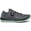 Saucony Switchback Iso Trailrunning Shoe   Womens, Grey/Mint, Medium, 10, Ium 10