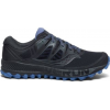 Saucony Peregrine Iso Trailrunning Shoe   Womens, Gunmetal, Medium, 10, Ium 10