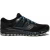 Saucony Peregrine Iso Trailrunning Shoe   Mens, Black/Grey, Medium, 10, Ium 10