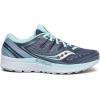 Saucony Guide Iso 2 Road Running Shoe   Womens, Slate/Aqua, Medium, 10, Ium 10