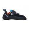 Evolv Kronos Climbing Shoe - Men's-Black/Orange-7