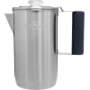 Stanley Adventure Cool Grip Camp Percolator, Stainless Steel, 1.1 Qt, 6 Cups