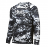 Huk Performance Fishing Huk Performance Fishing Pursuit Camo Vented Ls Tops, Long Sleeve   Mens, Hydro Blackwater, Large