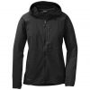 Outdoor Research Ferrosi Hooded Jacket, Women's, Black, S, 250102-black-S