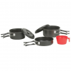 Stansport One Person Cook Set   Black Granite Steel
