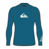 Quiksilver All Time Long Sleeve   Boy's, Crystal Teal, Small/10