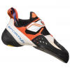 La Sportiva Solution Climbing Shoes - Womens, WhiteLily/Orange, 36
