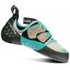 La Sportiva Oxygym Climbing Shoe - Women's-Mint/Coral-37