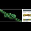 New England Ropes Maxim Glider Single Rope, Dry Sunset, 10.5mmx60m 100147