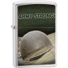 Zippo US Army Helmet Brushed Chrome