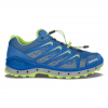 Lowa Aerox Gtx Lo Surround Hiking Boots   Men's, Royal/Lime, Medium, 10.5