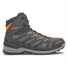Lowa Innox Pro Mid Hiking Boots   Men's, Graphite/Orange, Medium, 10.5