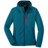 Outdoor Research Ferrosi Grid Hooded Jacket - Women's, Celestial Blue, Extra Small