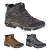 Merrell Moab 2 Mid Waterproof Hiking Boots   Men's, Earth, 10, Medium