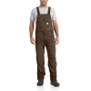 Carhartt Force Extremes Bib Overall For Mens, Coffee, 42/30